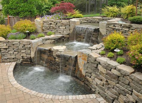 pond waterfalls pictures pictures of fish ponds with waterfalls images
