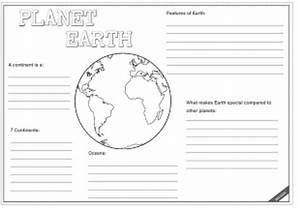 Gr 5 SS/ Grade 4 NST - Planet Earth Worksheet - Teacha!