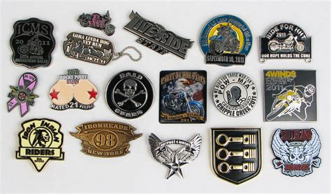 Custom Motorcycle Pins