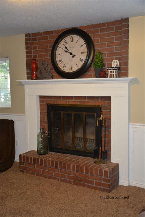home design tips and tricks diy fireplace mantel the idea room