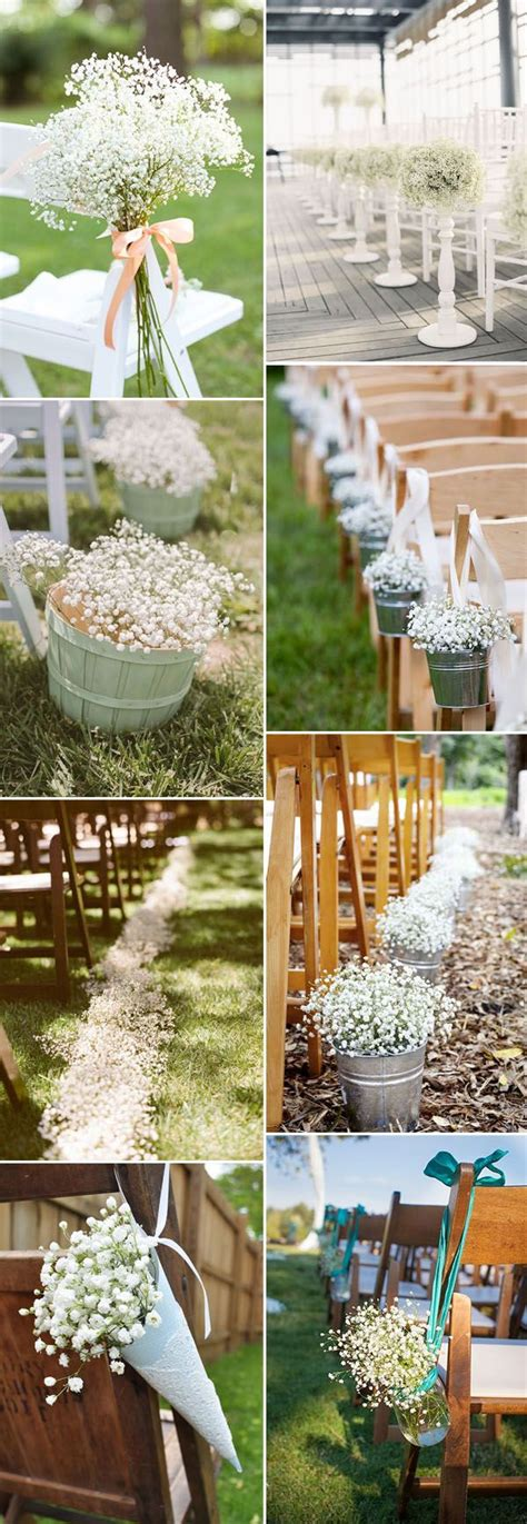 Save Your Budget On Weddings With 45 Babys Breath Ideas
