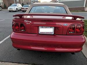 '96 Red Cobra Convertible - 77K | SVTPerformance.com