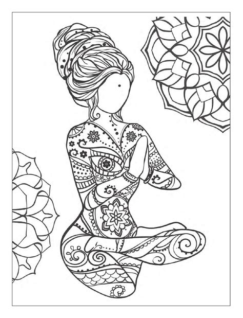 adult coloring meditation yoga and meditation coloring book for adults with yoga