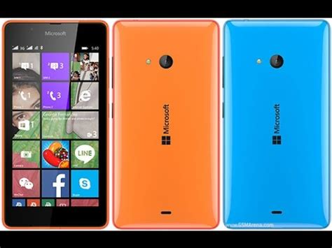 microsoft lumia 540 نظرة سريعه على محتوياة علبة هاتف
