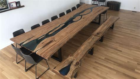 16ft Live Edge Epoxy River Table Custom Live Edge Table
