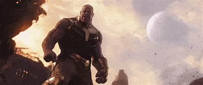 Thanos Infinity Endgame Moon Gifs Stone Hulk
