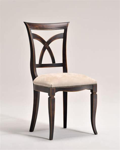 sedie stile classico sedia in stile classico con sedile imbottito idfdesign