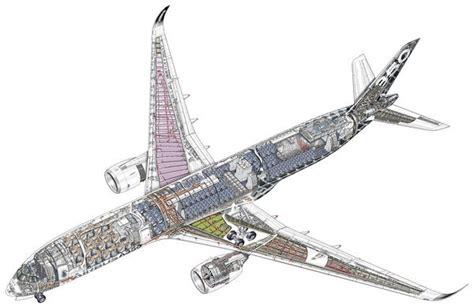 airbus a350 900 cutaway photo prints 10861182 flightglobal