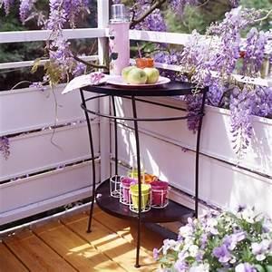 Gartenmöbel Für Kleinen Balkon : ber ideen zu halber tisch auf pinterest vintage klapptische und granit ~ Sanjose-hotels-ca.com Haus und Dekorationen