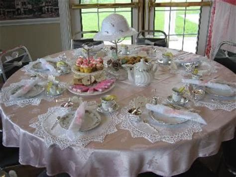 tea party table settings ideas tea party table setting information http www