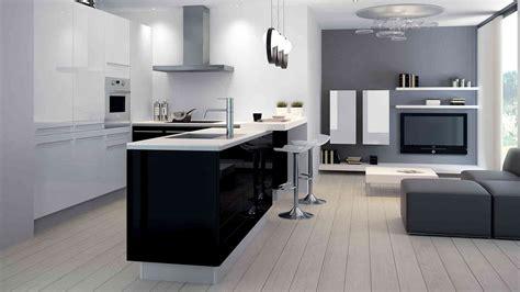 cuisine en et blanc cuisine moderne noir et blanc vente cuisine meubles