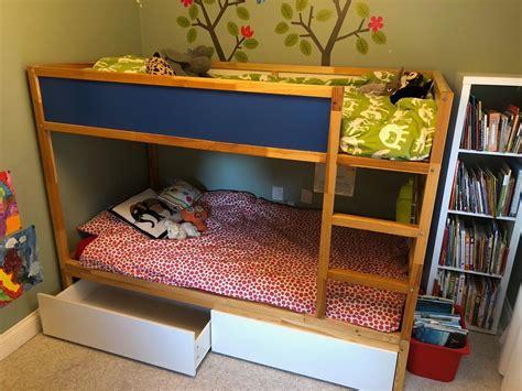 kura hacks hacking the kura into a bunk bed with storage ikea hackers