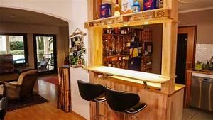 Eine Bar Bauen : tresen aus paletten design ~ Lizthompson.info Haus und Dekorationen