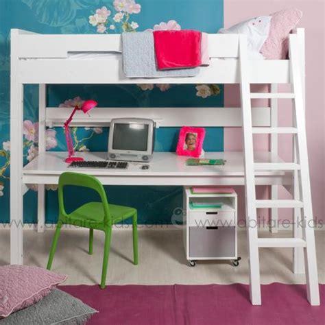 lit à étage avec bureau deco with lit a etage avec bureau