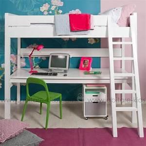 Lit Avec Bureau : chambre enfant de la marque bopita chez abitare kids abitare kids ~ Teatrodelosmanantiales.com Idées de Décoration