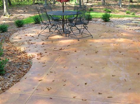 concrete decorative concrete st finish options