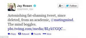 NYU professor Geoffrey Miller tweets that obese PhD ...