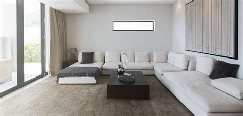 un canapé aménager salon avec un canapé d 39 angle grazia fr