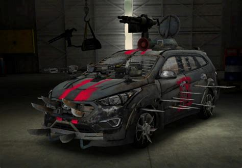 survival car hyundai sante fe zombie survival machine motoring middle