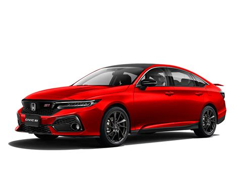 2022 Honda Civic Si Rendering Shows HDMI Exhaust ...