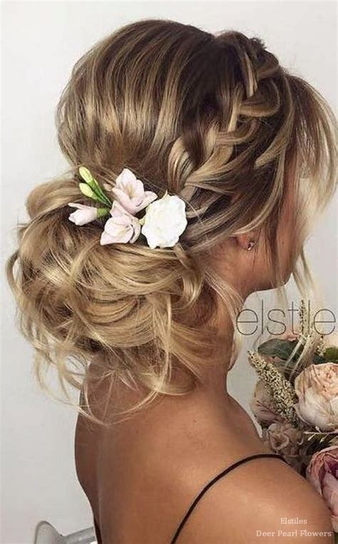 New Hairstyle For Hairs by 40 Best Wedding Hairstyles For Hair Deer Pearl Flowers