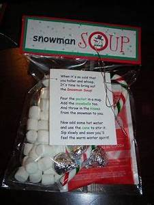 snowman soup recipe and poem
