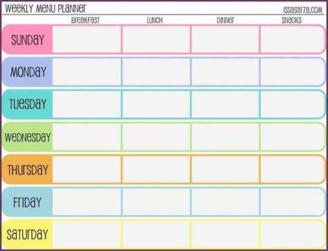 Schedule Template Template Weekly Schedule Template Weekly