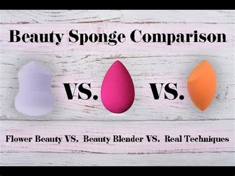 beauty sponge reviews real techinques  flower beauty