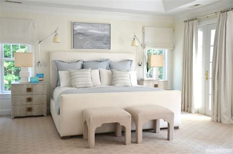 King Bed Decor Ideas by Studio A Toile Linen Chests Transitional Bedroom