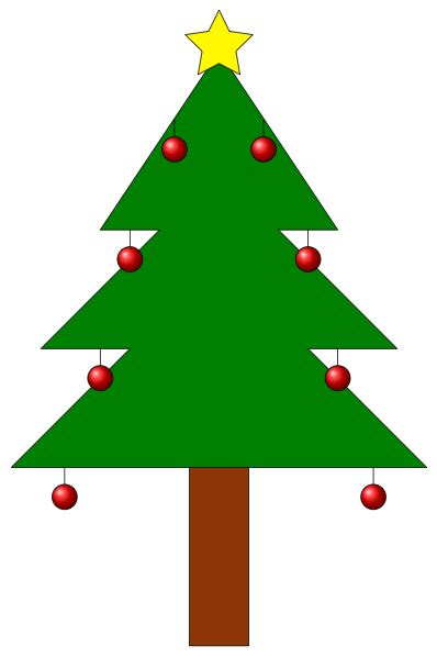 how to draw christmas tree how can we draw a tree with decorations using tikz tex stack exchange