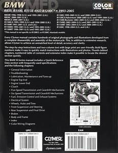 Clymer Manuals Bmw R850  R1100  R1150  R1200c 1993-2005