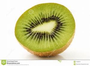 Half kiwi stock photo. Image of vitamins, sweet ...