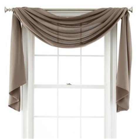 best 25 scarf valance ideas on curtain scarf