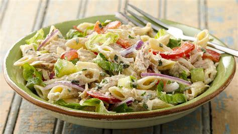 tuna pasta salad recipe tablespooncom