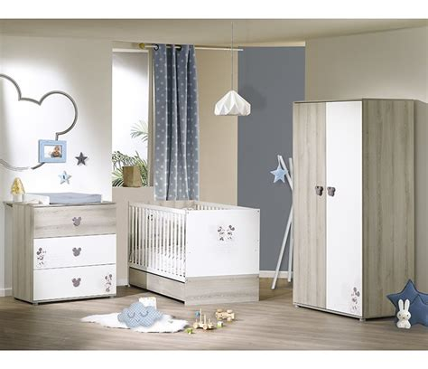 chambre complete mickey big bed 140x70 mickey de sauthon