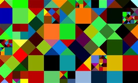 Abstract Cool Geometric Shapes by Geometric Shapes 3d And Cg Abstract Background