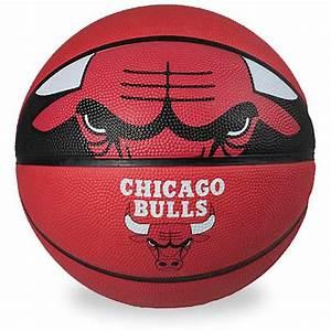 Spalding NBA Chicago Bulls Team Ball, Chicago Bulls ...