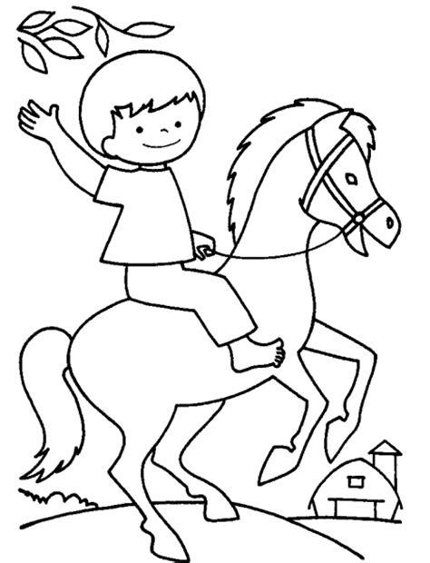 immagini di cavalli da colorare per bambini disegno cavallo da colorare disegno pony da colorare