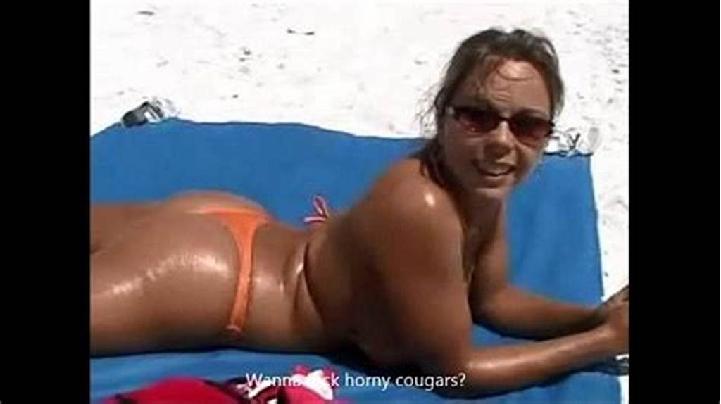 #Picking #Up #A #Cougar #At #The #Beach