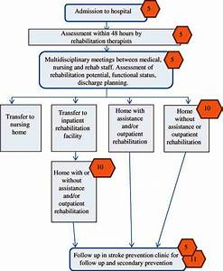 Process Flow Of A Patient With Stroke  From Admission To