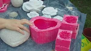 Formen Für Beton : beton giessen herzform aus silikon selbst machen youtube ~ Markanthonyermac.com Haus und Dekorationen
