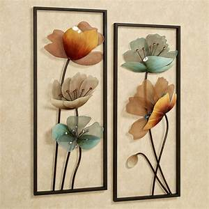 beautiful design metal wall art flowers decoration With kitchen cabinets lowes with metal flower decoration wall art