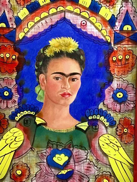 Frida Kahlo  Le Cadre 1938  Peinture  Pinterest Peinture