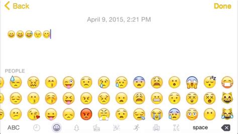 New Emoji Keyboard Ios 8.3