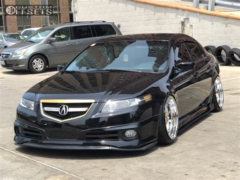 acura tl esm   racing air suspension