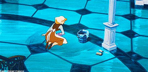 Cinderella Cleaning Gif 5 » Gif Images Download