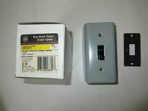 Ge General Electric Cr101y1 Manual Motor Disconnect