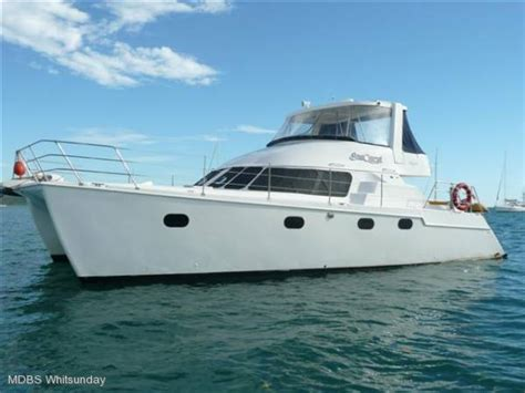 Catamaran Power Boats For Sale by Used Conquest 44 Power Catamaran For Sale Boats For Sale