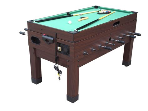 foosball air hockey combo table 13 in 1 combination game table in espresso the danbury