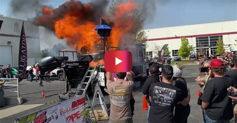 dodge truck explodes   hp dyno attempt